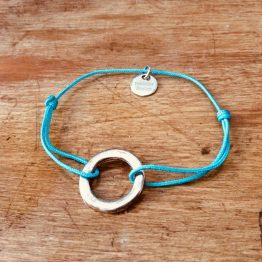 bracelet anneau rond